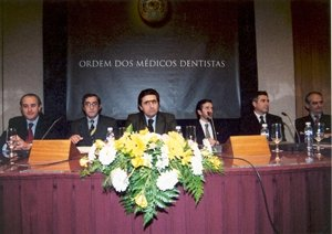 Taking over ceremony of the Portuguese Dental Association ruling bodies (January 2001)