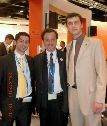 Babak Sayahpour and Artjom Meier