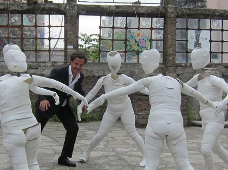 Orlando Monteiro da Silva at the museum