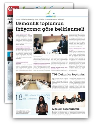 TDA Istanbul Congress Newspaper