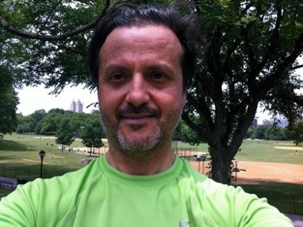 Running at Central Park