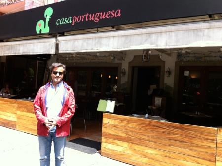 A portuguese restaurant in Mexico City
