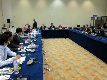 FDI Council meeting with IDM, International Dental Manufacturers