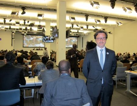Attending Round Table 1 on behalf of FDI- World Dental Federation