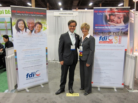 With Kathy Roth, ADA Past President.
