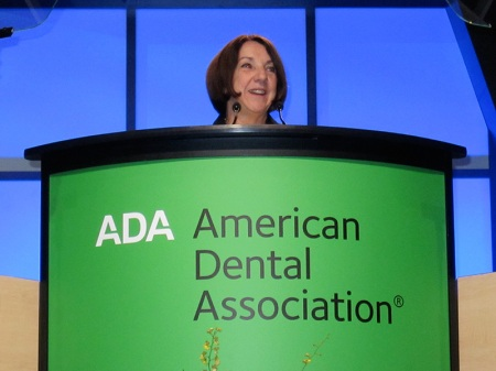 ADA executive director, Kathleen T. O' Loughlin.