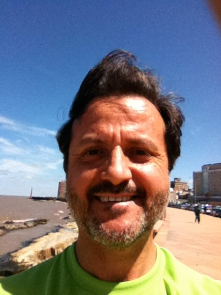 Than I had a break so I could do a jogging at the Montevideo seaside.