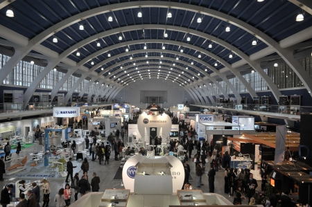View of one of the Exhibition Hall