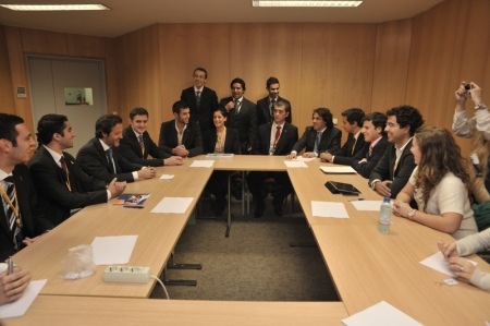 Meeting with IADS and the Portuguese Dental Students Associations