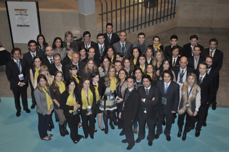 All together! The team that helped to organize this congress