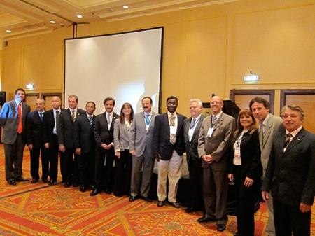 Group photo of all the panelists