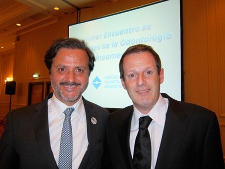 Orlando Monteiro da Silva with Damían Basrani