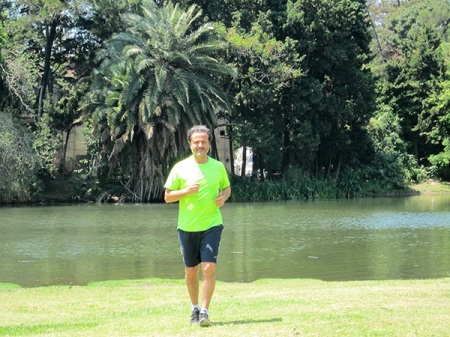 Traditional jogging in Palermo area... thanks Argentina!