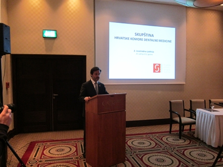 I was invited to address our Croatian colleagues as president of the FDI. (To consult my speech below)