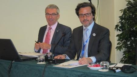 Me and Jean-Luc Eisele, FDI Executive Director.