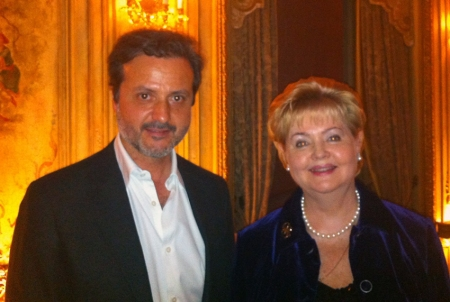 With Ludmila Maximovskaya, vice-president of Russia Dental Association.