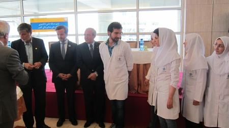Scientific contest between Tehran dental medicine faculties.
