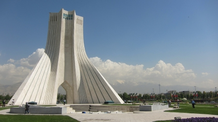 Azadi Monument, in Tehran.