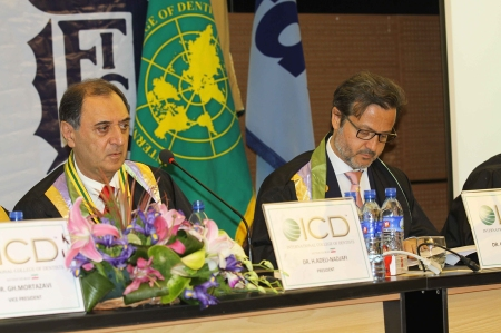 With Hamid Adeli-Nadjafi, president of ICD in Iran.