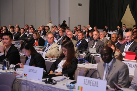 Delegates at the General Assembly.