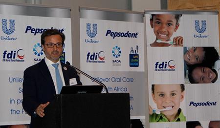 FDI Unilever press conference.