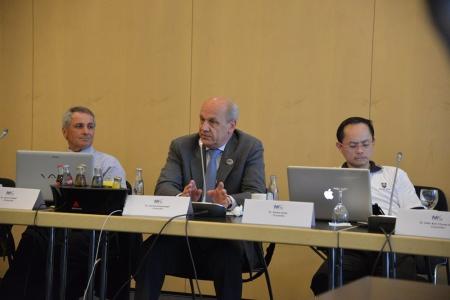 Gerhard Seeberger, FDI councillor.
