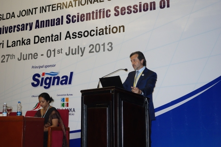 "Symposium on ""Integration and harmonization  of Oral Health""."